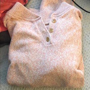 Lands end light pink sweater